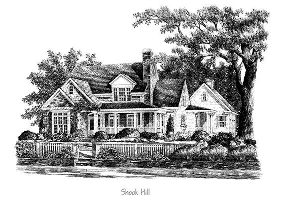 Shook Hill House Plan By L Mitchell Ginn Associates