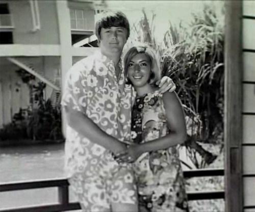 Brian Wilson & Marilyn Rovell of The Honeys