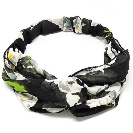 Blossom - Black Dalia  Headband #headband #hairstyle #hair
