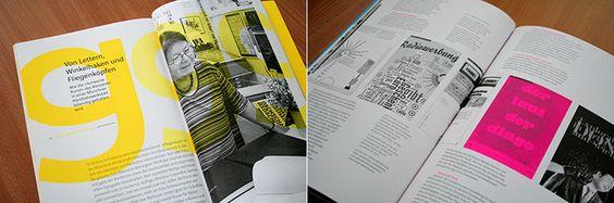 »Typotopografie« in urbanen Räumen - DESIGNER IN ACTION