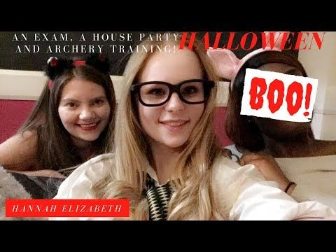 Youtube Halloween Week An Exam House Party And Archery House Party Halloween Week