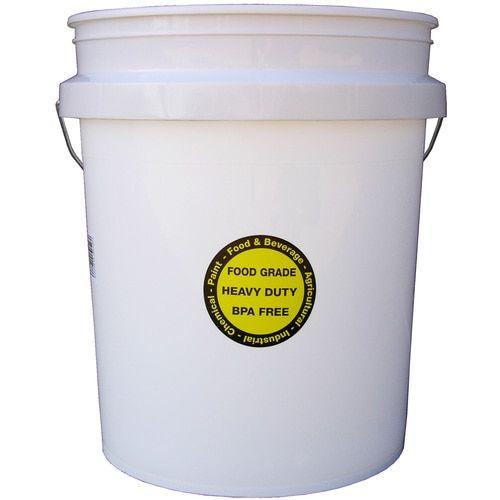 Encore Plastics 5 Gallon General Bucket Lowes Com In 2020 Food Grade Buckets Bucket Worm Composting