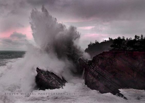 High Surf Advisory by Steven  Michael, via 500px