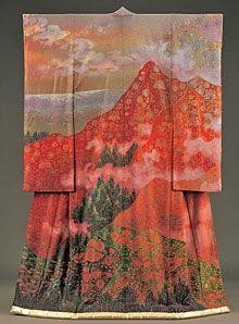 Kimono art of Ithciku Kubota.