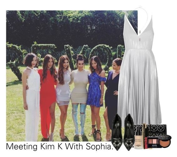 """""""Sophia"""" by idaln ❤ liked on Polyvore featuring Topshop, Dolce&Gabbana, Alaïa, Bobbi Brown Cosmetics, L'Oréal Paris, NYX, OneDirection, onedirectionoutfits and sophiasmith"""