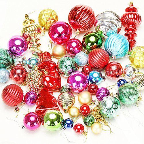 Wddh Large Christmas Balls Bulk Decor Electroplating Ball For Christmas Tree Outdoor Christmas Ball Ornaments Outdoor Christmas Christmas Balls Ball Ornaments