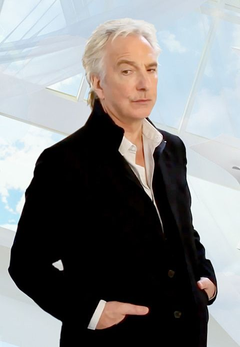 "Alan Rickman - promo pic for ""Seminar"" Late 2011 --What a damn fine looking man.:"
