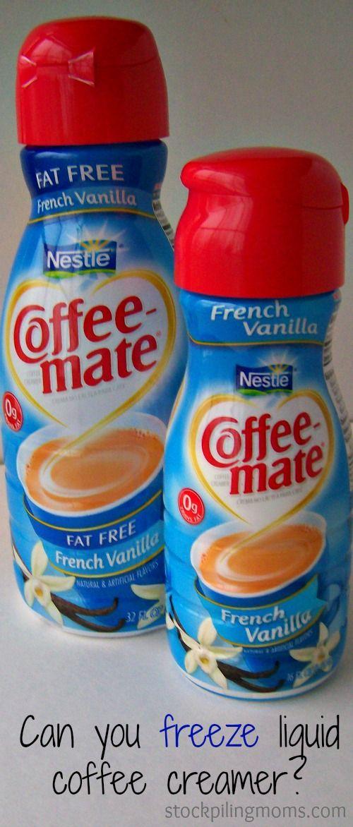 Can You Freeze Coffee Mate Luquid Coffee Creamer