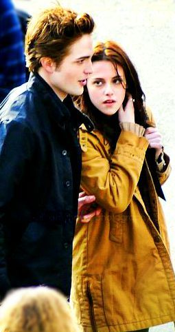 Robert Kristen On Twilight Set Saga Twilight Saga Crepusculo