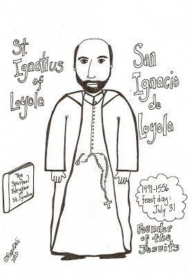Paper Dali: Saint Ignatius of Loyola / San Ignacio de Loyola
