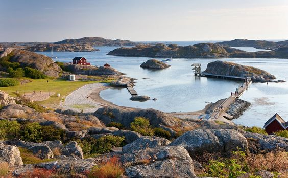 the island of Tjörn in Västra Götaland County in western Sweden.