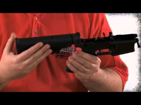 Cleaning your Bushmaster M4
