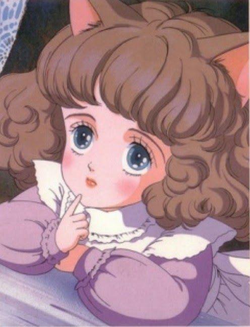 انمي قديم فيلم The Star Of Cottonland مترجمه للعربية Wata No Kuni Hoshi Aesthetic Anime Anime Anime Wall Art