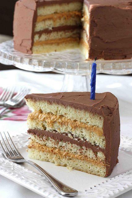 Chocolate & Dulce de Leche Birthday Cake Recipe ...