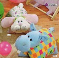Almohadas de animales - Imagui