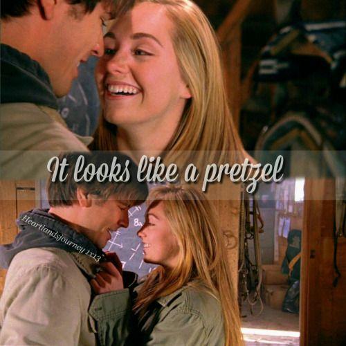 """heartlandsjourney: """" """"It looks like a pretzel."""" """""""