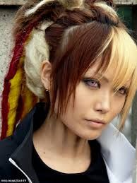 Image result for red blonde ombre straight hair