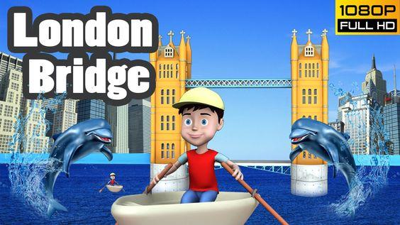 London Bridge Is Falling Down | Lollipop Kids Tv #rhymes #Nurseryrhymes #LondonBridge