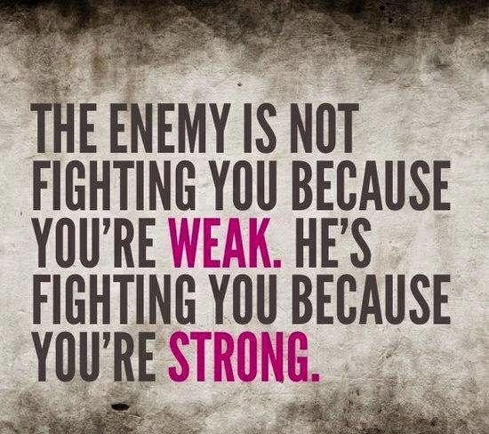 Anonymous ART of Revolution: The enemy is not fighting you because you're weak He's fighting you because you're strong