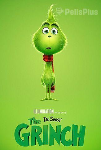 El Grinch Es Un Ser Grunon Y Peludo De Color Verde Que Vive En Una Cueva Oculta En Lo Alto De La Montana El Mismo A Peliculas De Animacion Animacion Peliculas