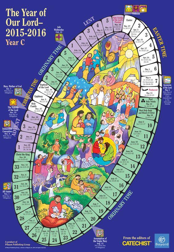 2015-2016 Liturgical Calendar
