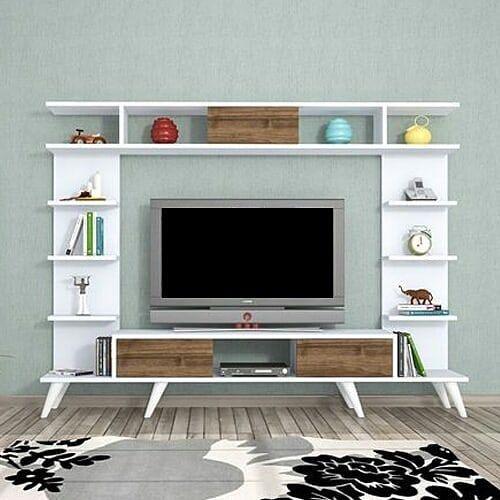 New The 10 Best Home Decor With Pictures طاولة تلفاز موديل روتيرو أبيض مصممه بشكل عصري وحديث ومصنوعه من ألواح خشبية ذات سطح Home Decor Decor Home Goods