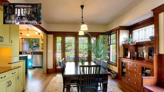 Beautiful dining room. Love the built-ins.  Ship Shape | JAS Design Build