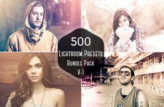 50% Off 500 Pro Lightroom Presets Bundle by Symufa on Etsy