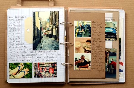 strip of photos, smaller page (on right)