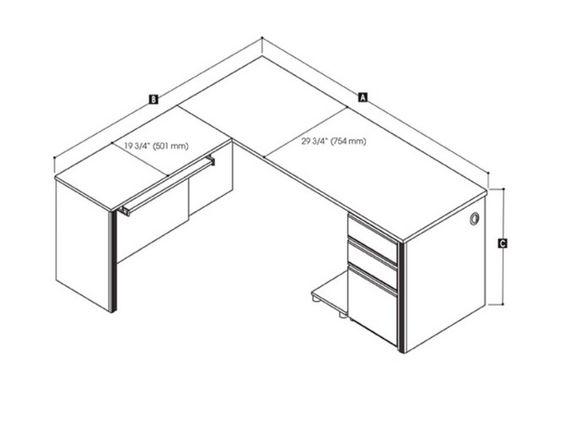Office Desk Dimensions Google Search Dimensions