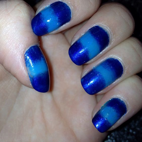 I love to experiment with my nails :)