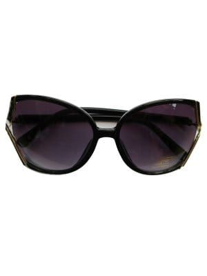 Black 1970s Look Boutique Sunglasses