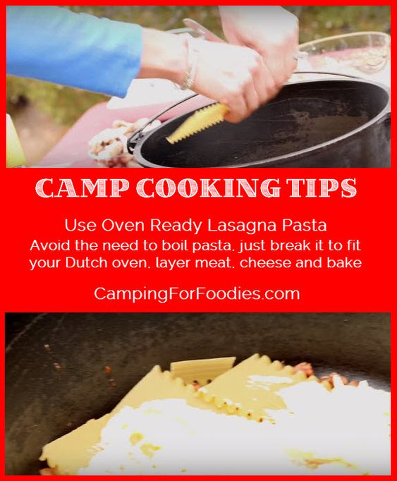 Camping Recipes And Cooking Tips: Dutch Ovens, Cooking Tips And Dutch On Pinterest