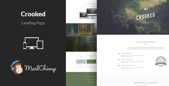Download Free              Crooked - Multipurpose Landing Page Template            #               ajax #bootstrap #business #clean #corporate #gallery #html #landing page #mailchimp #marketing #minimal #multipurpose #one page #responsive #startup