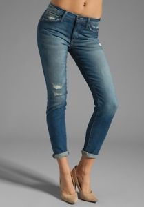 NEW Joe's Jeans Vintage Reserve 1971 Renah Cropped Skinny Rolled Ankle Size 28
