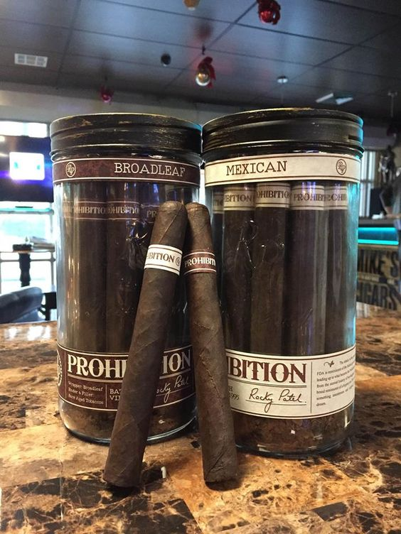 New Rocky Patel Prohibition cigar. Packed in mason jars, these incredible cigars are a must try!