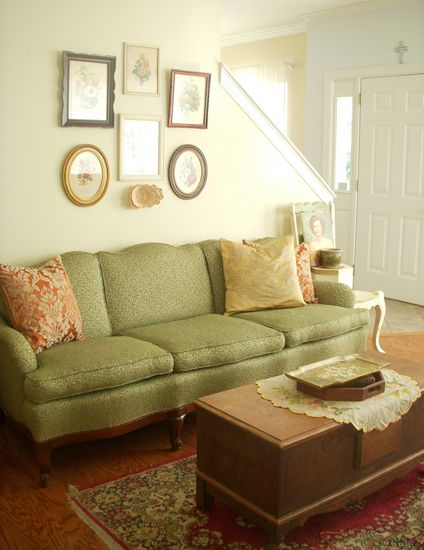 Apartment Therapy: Heather's Vintage Granny Chic