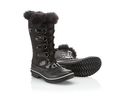 Can't wait to sport these Sorel glitter boots in the next snow ...