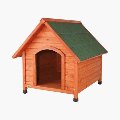 Trixie Log Cabin Dog House Large Brown Large Dog House