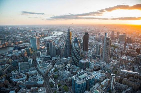 Everchanging London Stunning Shots Of The City From The Air - Incredible 360 degree aerial photography by andrew griffiths