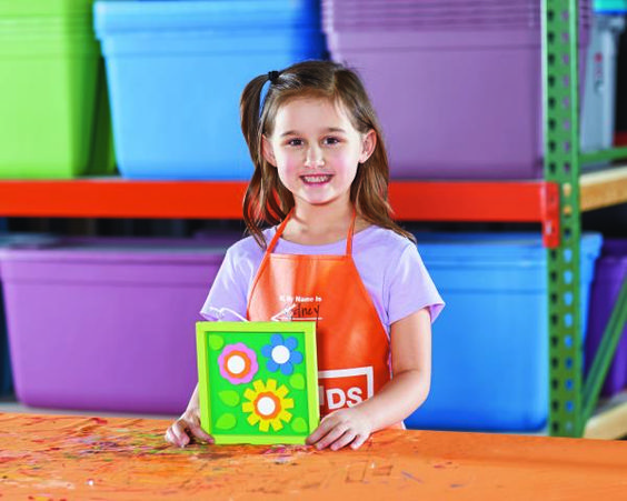 Instructions to Sign Up for Home Depot Kids Workshops