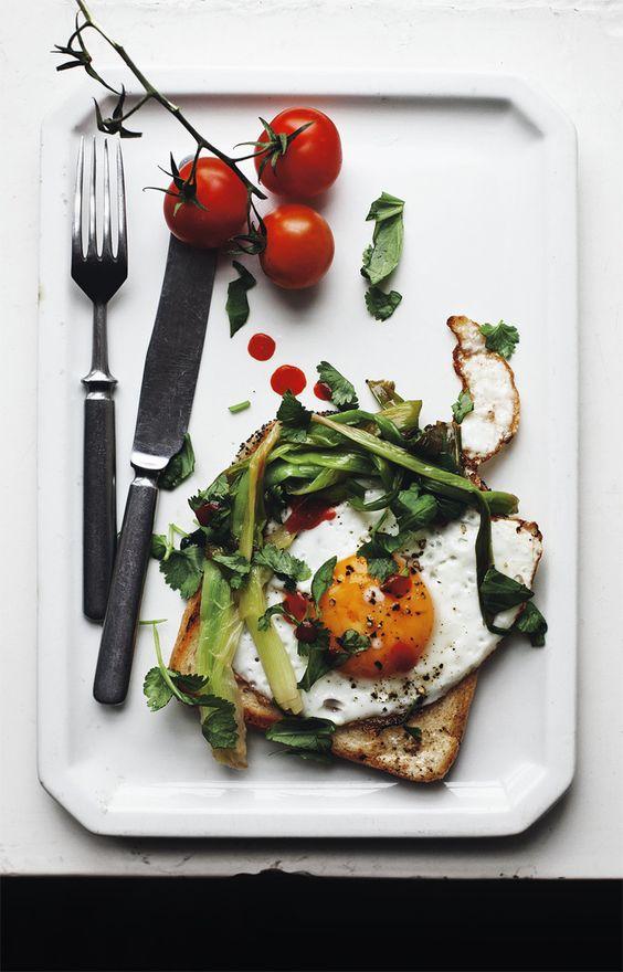 Uova per la colazione più sana