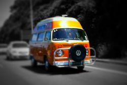 Cool High top Bay Bus!