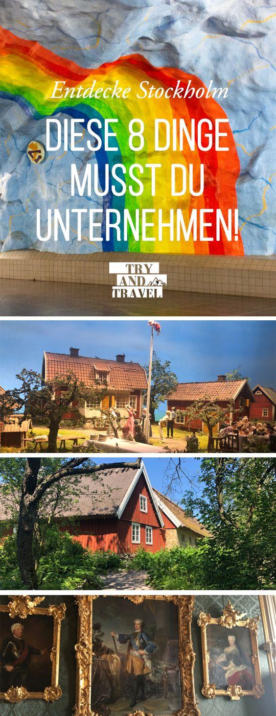 8 Dinge, die man in Stockholm unbedingt machen soll!