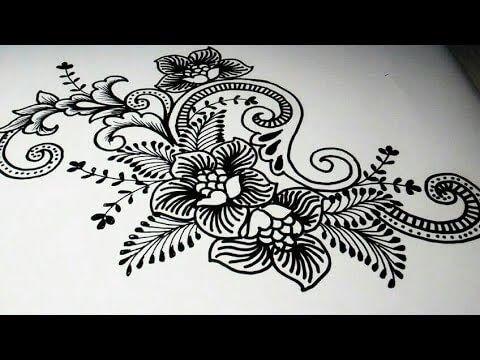 Gambar Bunga Pada Batik Kumpulan Sketsa Batik Flora Yang Mudah Gambar Kajian Estetika Corak Batik Tegal Di Kelurahan Ba Di 2020 Henna Tangan Lukisan Bunga Tato Suku