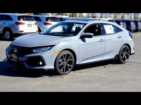 2019 Civic Sport Touring Hatch First Look Youtube In 2020 Sport Touring Honda Civic Sport Civic