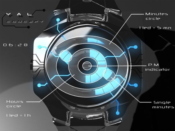 YAL Tron Concept Watch