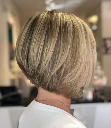 The Full Stack 50 Hottest Stacked Haircuts In 2020 Stacked Haircuts Bob Haircut For Fine Hair Stacked Bob Hairstyles