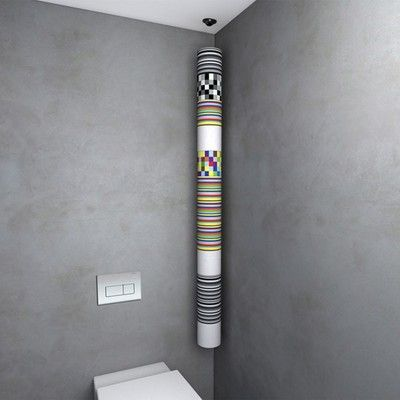 Roll'Up, le système de stockage malin pour les rouleaux de papier toilette