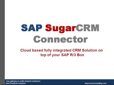 Sap Sugar Connector Demo